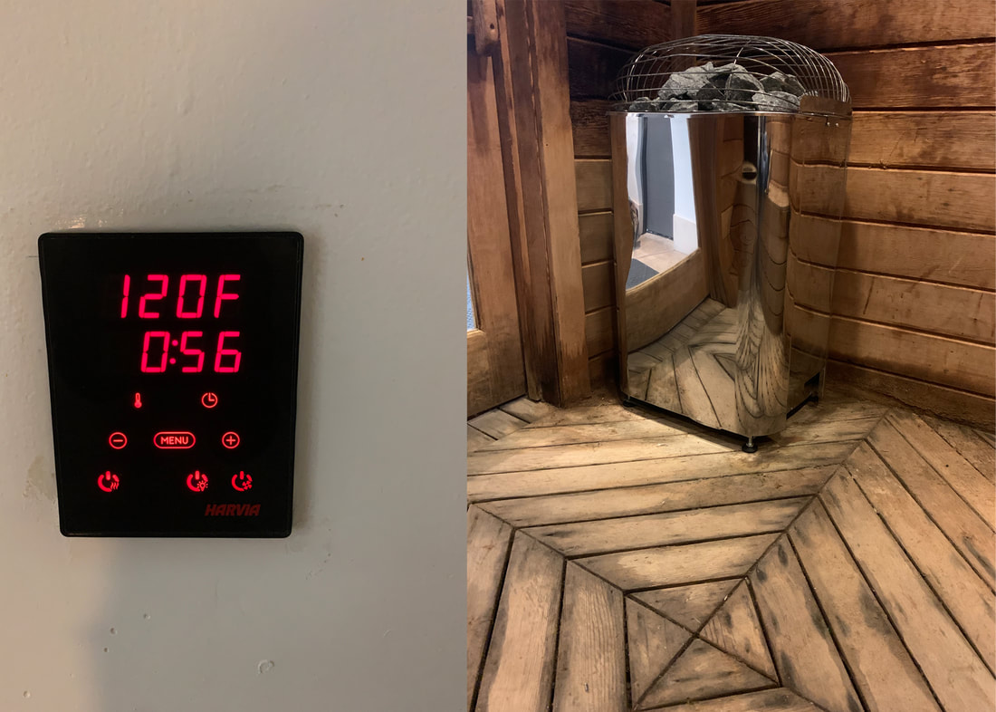 Harvia K15G Sauna Heater with Xenio Control